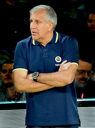 Željko Obradović - Željko Obradović with Fenerbahçe in 2017