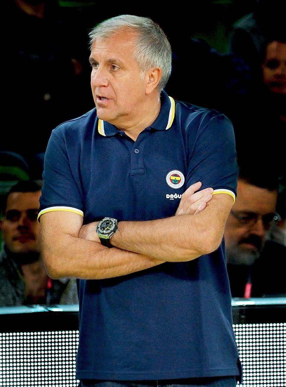 Жељко Обрадовић као тренер Фенербахчеа (2017)