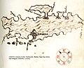 Χάρτης της νήσου Χβαρ στην Κροατία - Antonio Millo - 1582-1591.jpg
