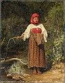 Василий М. Максимов - Ферма девушка (1883).jpg
