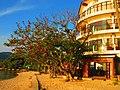 Вид на башню нашего отеля с берега - panoramio.jpg