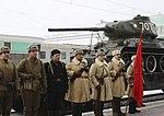 В Новосибирске эшелон с легендарными танками Т-34 3.jpg