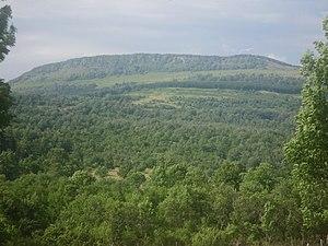 Grmeč - Železnjik, one of the peaks of Grmeč