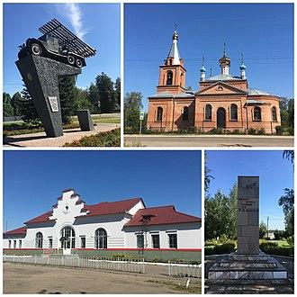 Rudnya, Rudnyansky District, Smolensk Oblast - Image: Коллаж Рудня