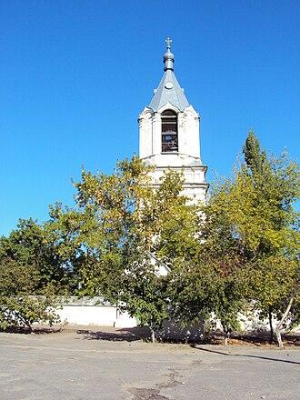 Serafimovich (town) - Voskresenskaya Church in Serafimovich