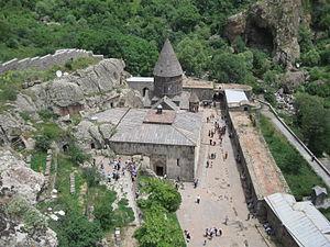 Монастырь гегард в армении древний