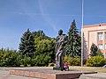 Пам'ятник поету Т. Г. Шевченку смт Млинів 01.jpg