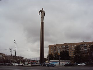 Monument to Yuri Gagarin