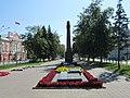 Памятник на братской могиле, проспект Ленина, 18, Барнаул, Алтайский край.jpg