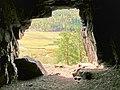 Пещера-грот Вид из пещеры.jpg