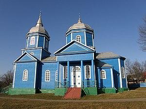 Monastyryshche - A church in Monastyryshche