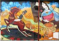 Пушкинская 74 Пушкин Дама граффити.JPG