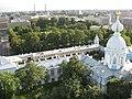 Санкт-Петербург. Смольный монастырь. Корпус жилой с угловой церковью..JPG