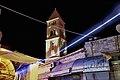 כנסיית הגואל ברובע הנוצרי של העיר העתיקה בירושלים. הכנסייה צולמה בפסטיבל האור שהתקיים בחודש יוני 2012 03.jpg