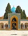 صحن غربی آستانه شاه نعمت الله - panoramio.jpg