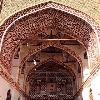Qaen City in South Khorasan, Iran