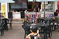店の前にテレビ 日ハム戦中継 (4789774579).jpg