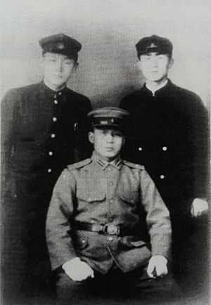 Park Chung-hee - Park with fellow students at Changchun Military Academy