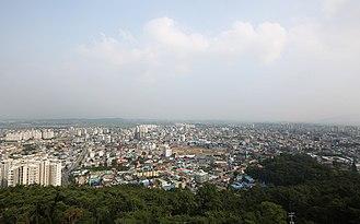 Seosan - Image: 서산시 전경