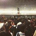 -電車日誌 -mtr -hongkong -hk -subway 10052016 rush hour 等了四班才上的去 (29834664860).jpg