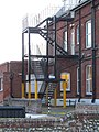-2019-01-09 Fire Escape, Former Clarence Hotel, Sea View Road, Mundesley (3).JPG