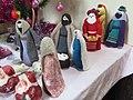 -2019-12-14 Nativity scene, Christmas tree festival 2019, Church of St John the Baptist, Trimingham (1).JPG
