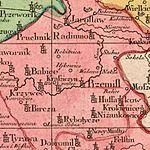 01777 Tobias Conrad Lotter Carte Nouvelle des Royaumes de Galizie et Lodomerie , Przemisl am Sann.jpg