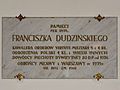 021212 Commemorative plaque of Holy Trinity Church in Warsaw (Lutheran) - 03.jpg