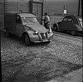 03.06.61 Procès Tournerie des Drogueurs, arrivée Maïté Davergne à Saint-Michel (1961) - 53Fi913.jpg