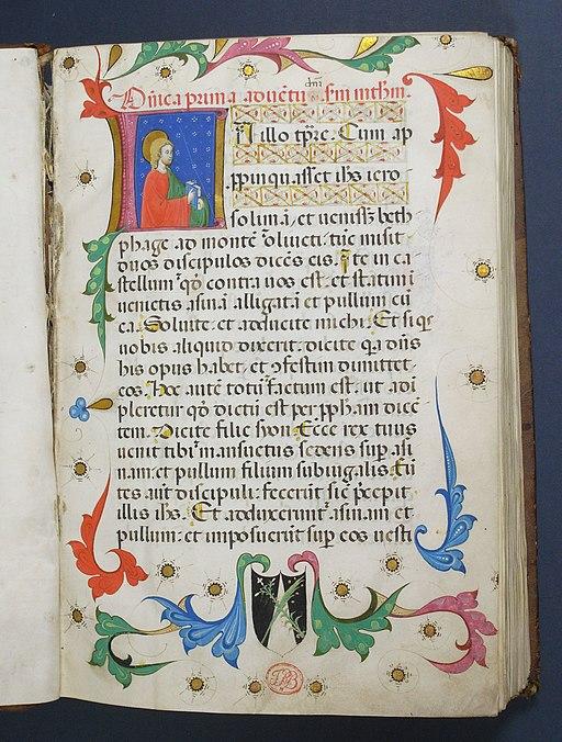 05- Evangeliarium Dominicanum1400