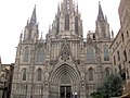 07 Catedral de Barcelona, façana neogòtica.jpg
