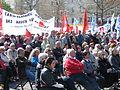 1. Mai 2013 in Hannover. Gute Arbeit. Sichere Rente. Soziales Europa. Umzug vom Freizeitheim Linden zum Klagesmarkt. Menschen und Aktivitäten (199).jpg