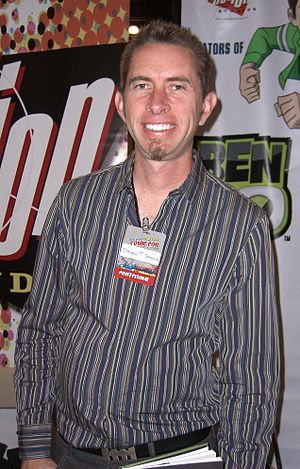 Steven T. Seagle - Seagle at the New York Comic Con in Manhattan, October 10, 2010