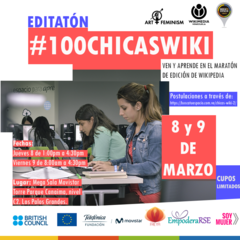 100ChicasWiki Flyer.png