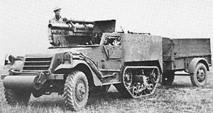 T19 Howitzer Motor Carriage - A T19 Howitzer Motor Carriage.