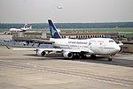 112ad - Garuda Indonesia Boeing 747-4U3, PK-GSH@FRA,04.10.2000 - Flickr - Aero Icarus.jpg