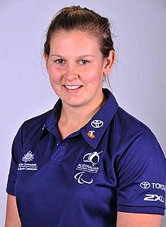 Teigan Van Roosmalen Australian Paralympic swimmer