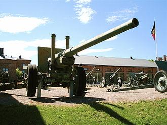 122 mm gun M1931 (A-19) - Image: 122mm m 1931 gun hameenlinna 3