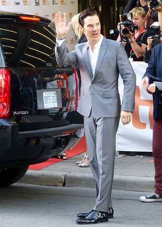 Benedict Cumberbatch - At the premiere of 12 Years a Slave at TIFF, September 2013