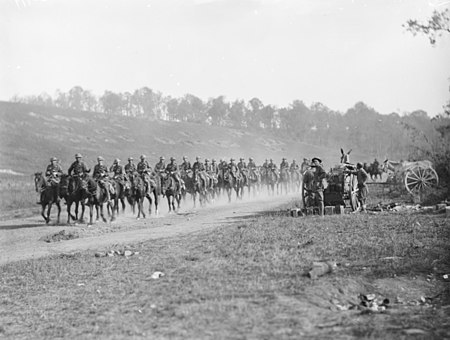 13th Light Horse Regiment in France 1918