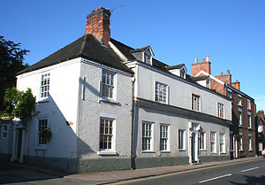 Hospital of St Nicholas, Nantwich - The 16th-century 140–142 Hospital Street might stand on the hospital site