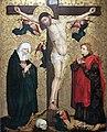 1455 Kreuzigung Christi mit Maria und dem Evangelisten Johannes anagoria.JPG