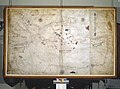 1545 Portolan chart of the Central and Eastern Mediterranean Sea and the Black Sea by Battista Agnese.jpg