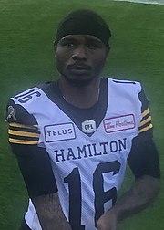 Brandon Banks American football player for the Hamilton Tiger-Cats