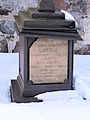 160313 Grave near Saint Stanislaus church in Luszyn - 02.jpg