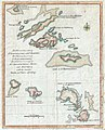 1781 Lodge Map of St. Bart, Anguilla, St. Martins, Leeward Islands, West Indies.JPG