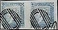 1859 2d pair worn Mauritius Mi5III SG39.jpg