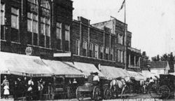Bangor's Business District, circa 1902