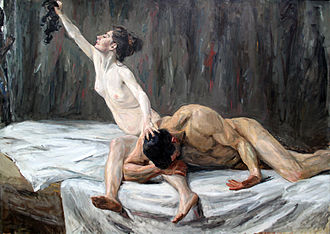 Delilah - Max Liebermann's Samson and Delilah (1902)