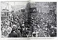 1907-05-04, Blanco y Negro, Madrid, La manifestación obrera del 1 de mayo en la calle de Alcalá, Goñi.jpg
